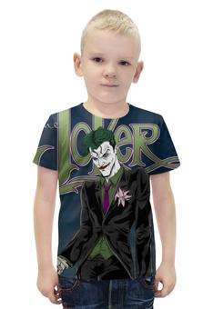 """Футболка с полной запечаткой для мальчиков """"Joker. Джокер"""" - joker, комиксы, джокер, фэнтэзи"""