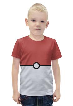 """Футболка с полной запечаткой для мальчиков """"POKEMON"""" - pokemon, покемоны"""