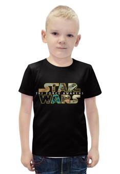 """Футболка с полной запечаткой для мальчиков """"Star Wars 7"""" - star wars, звёздные войны, пробуждение силы, the force awakens, episode vii"""
