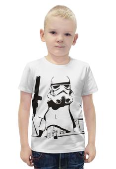 """Футболка с полной запечаткой для мальчиков """"Star Wars"""" - star wars, звездные войны, штурмовик"""