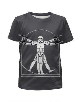 """Футболка с полной запечаткой для мальчиков """"Star Wars"""" - арт, star wars, звездные войны"""