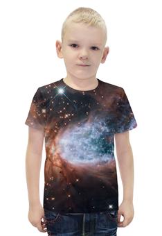 """Футболка с полной запечаткой для мальчиков """"Deep Space / Глубокий космос"""" - space, космос, вселенная, наука, галактика"""