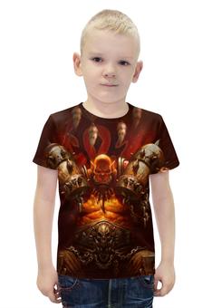 """Футболка с полной запечаткой для мальчиков """"WarCraft Collection: ork"""" - warcraft, орк, орда, варкрафт"""