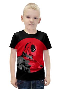 """Футболка с полной запечаткой для мальчиков """"Дэдпул (Deadpool)"""" - комиксы, deadpool, марвел, дэдпул"""