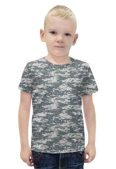 """Футболка с полной запечаткой для мальчиков """"Digital Urban Style"""" - style, армия, камуфляж, camo"""