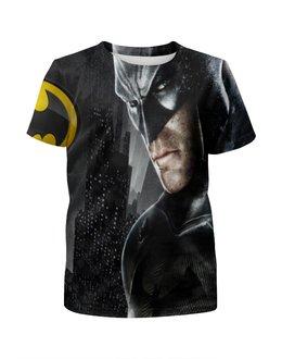 """Футболка с полной запечаткой для мальчиков """"Бэтмен"""" - бэтмен, dc комиксы"""