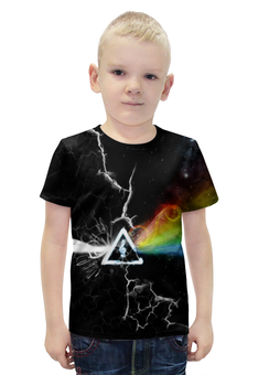 """Футболка с полной запечаткой для мальчиков """"Pink Floyd"""" - пинк флойд, pink floyd"""