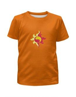 """Футболка с полной запечаткой для мальчиков """"sunset shimmer"""" - эквестрия, sunset shimmer, гёрлз, знак отличия, сансет шиммер"""
