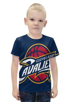 """Футболка с полной запечаткой для мальчиков """"Cleveland Cavaliers"""" - нба, cleveland, cleveland cavaliers, кливленд кавальерс"""