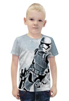 """Футболка с полной запечаткой для мальчиков """"Штурмовик (Звездные Войны)"""" - star wars, stormtrooper"""