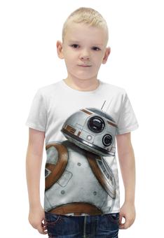 """Футболка с полной запечаткой для мальчиков """"Star Wars/Звездные войны Дроид BB8"""" - звездные войны, starwars, r2d2, bb8"""