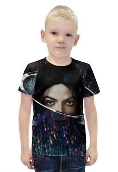 """Футболка с полной запечаткой для мальчиков """"Майкл Джексон (Michael Jackson)"""" - майкл джексон, michael jackson"""