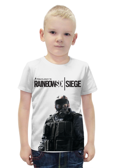 """Футболка с полной запечаткой для мальчиков """"rainbow six"""" - игры, rainbow six"""