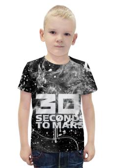 """Футболка с полной запечаткой для мальчиков """"30 Seconds to Mars"""" - 30 seconds to mars, rock, джаред лето"""