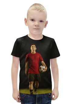 """Футболка с полной запечаткой для мальчиков """"Лионель Месси"""" - футбол, barcelona, messi, барселона, аргентина"""