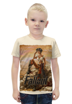 """Футболка с полной запечаткой для мальчиков """"Fallout game"""" - games, игры, game, fallout, фаллоут"""