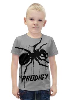 """Футболка с полной запечаткой для мальчиков """"The Prodigy"""" - prodigy, продиджи, муравей, the prodigy, термит"""