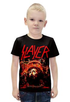 """Футболка с полной запечаткой для мальчиков """"Slayer Repentless 2015"""" - музыка, рок, металл, slayer, thrash metal"""
