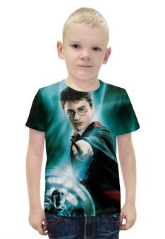 """Футболка с полной запечаткой для мальчиков """"Harry Potter"""" - гарри поттер, приключения, волшебник"""