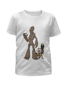 """Футболка с полной запечаткой для мальчиков """"Стражи Галактики (Guardians of the Galaxy)"""" - стражи галактики, guardians of the galaxy, стражи галактики 2, guardians of the galaxy 2"""