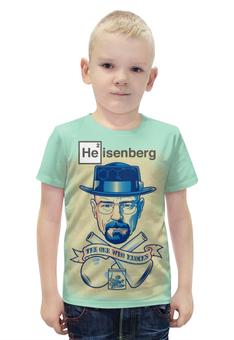 """Футболка с полной запечаткой для мальчиков """"Breaking Bad/Во все тяжкие"""" - кино, сериал, во все тяжкие, breaking bad, heisenberg"""
