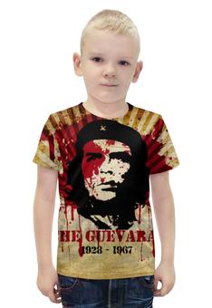 """Футболка с полной запечаткой для мальчиков """"Эрнесто Че Гевара"""" - революция, рисунок, че гевара"""