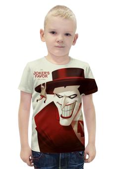 """Футболка с полной запечаткой для мальчиков """"Джокер (англ. Joker — Шутник) """" - joker, batman, джокер"""