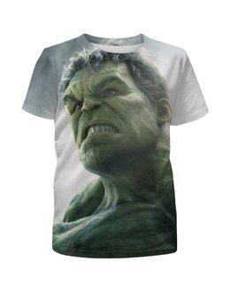 """Футболка с полной запечаткой для мальчиков """"Без названия"""" - hulk, мстители, avengers, марвел, халк"""