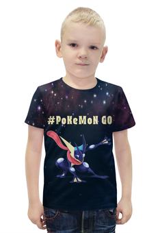 """Футболка с полной запечаткой для мальчиков """"Покемон Грениндзя """" - pokemon, покемон, greninja, грениндзя"""
