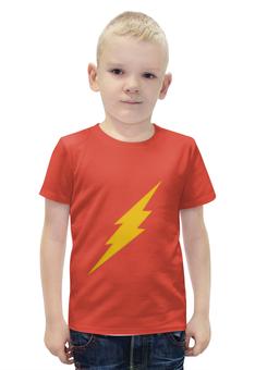 """Футболка с полной запечаткой для мальчиков """"The Flash"""" - флэш, the flash"""