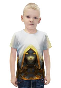 """Футболка с полной запечаткой для мальчиков """"Priest (World of Warcraft)"""" - wow, world of warcraft, priest, жрец"""
