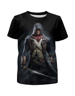 """Футболка с полной запечаткой для мальчиков """"Assassin's Creed"""" - игры, рисунок, ассасин"""