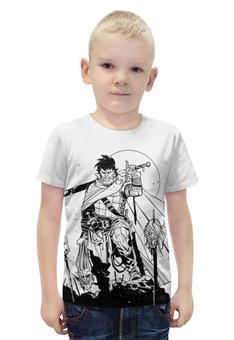 """Футболка с полной запечаткой для мальчиков """"Путь воина"""" - викинги, vikings, воины, путь воина, викингда"""