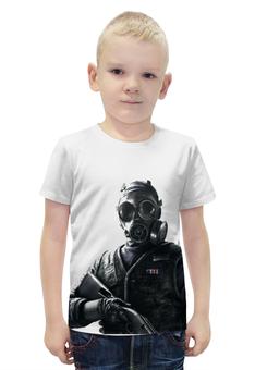 """Футболка с полной запечаткой для мальчиков """"SAS Soldier"""" - война, rainbow, sas, солдат"""