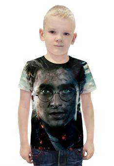 """Футболка с полной запечаткой для мальчиков """"Harry Potter"""" - гарри поттер, приключения, волшебник, рэдклифф"""