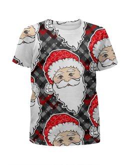 """Футболка с полной запечаткой для мальчиков """"Дед морозы (Новый год)"""" - новый год, рождество, санта, нг"""