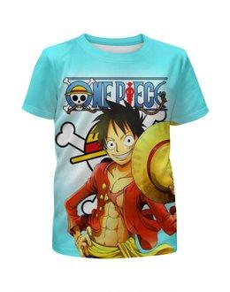 """Футболка с полной запечаткой для мальчиков """"One Piece"""" - аниме, манга, ван пис, one piece"""