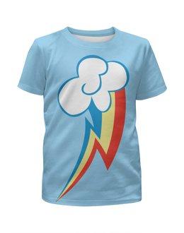 """Футболка с полной запечаткой для мальчиков """"Rainbow Dash / Рейнбоу Дэш"""" - rainbow dash, my little pony, рейнбоу дэш"""
