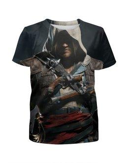 """Футболка с полной запечаткой для мальчиков """"Кредо ассасина (Assassin's Creed)"""" - assassin's creed, ассасин, кредо ассасина"""