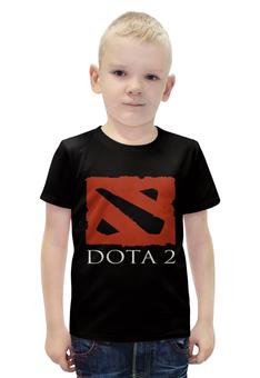 """Футболка с полной запечаткой для мальчиков """"Dota2"""" - игры, game, спорт, dota2, дота2"""