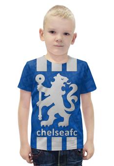"""Футболка с полной запечаткой для мальчиков """"Chelsea (Челси) """" - челси, chelsea"""