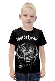 """Футболка с полной запечаткой для мальчиков """"Motorhead (Motörhead)"""" - motorhead, motörhead"""