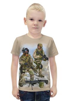 """Футболка с полной запечаткой для мальчиков """"US Army"""" - америка, солдаты, арт дизайн, us army, армия сша"""