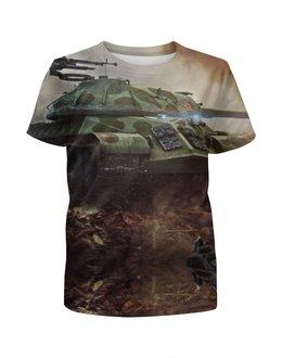 """Футболка с полной запечаткой для мальчиков """"World of Tanks"""" - world of tanks, wot"""