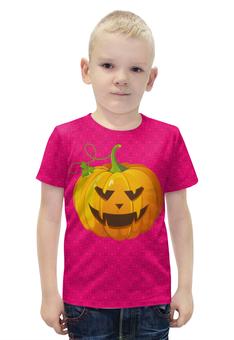 """Футболка с полной запечаткой для мальчиков """"Halloween"""" - хэллоуин"""