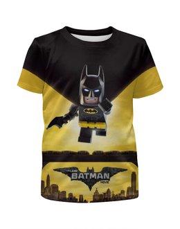 """Футболка с полной запечаткой для мальчиков """"Лего Фильм: Бэтмен / The LEGO Batman Movie"""" - комикс, рисунок, кино, лего, бэтмен"""