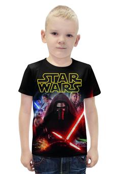 """Футболка с полной запечаткой для мальчиков """"Star Wars"""" - star wars, звездные войны, дарт вейдер"""