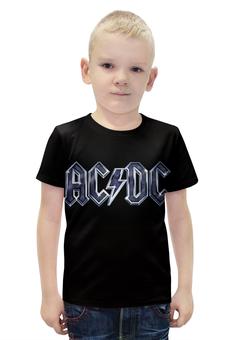 """Футболка с полной запечаткой для мальчиков """"AC/DC"""" - rock, ac dc"""