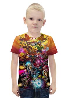"""Футболка с полной запечаткой для мальчиков """"Avengers"""" - комиксы, супергерои, марвел"""
