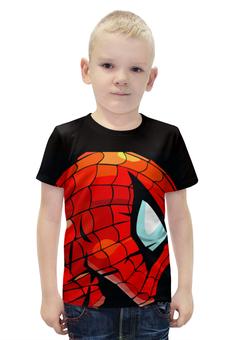 """Футболка с полной запечаткой для мальчиков """"Человек Паук"""" - marvel, spider man, человек паук, марвел, спайдермен"""